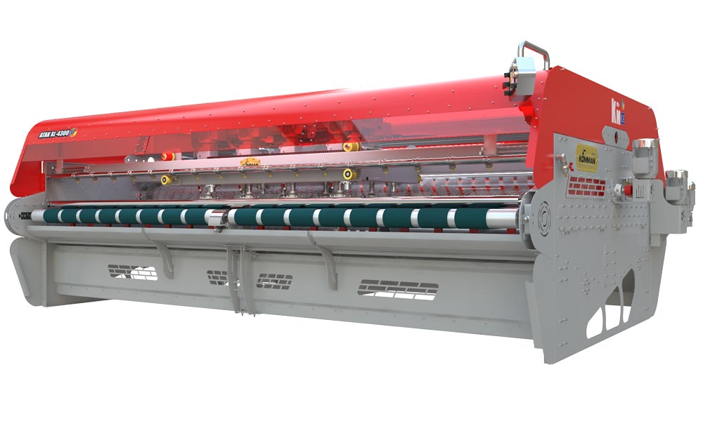 Long Chassis Full Automatic Carpet/Rug Washing Machine ATAK XL 4300