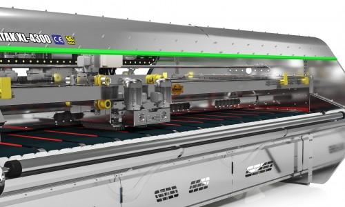 Full Automatic Stainless - Chrome Carpet/Rug Washing Machine ATAK INOX XL 4300