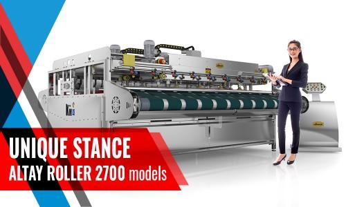 Full Automatıc Carpet/Rug Washıng Machıne ALTAY ROLLER INOX 2700