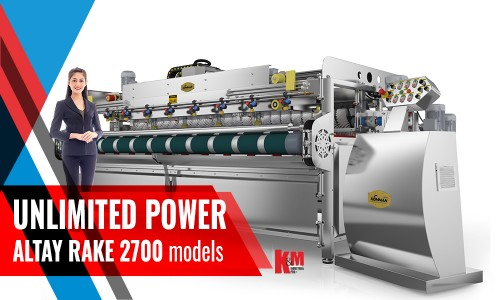 Full Automatıc Carpet/Rug Washıng Machıne ALTAY RAKE INOX 2700