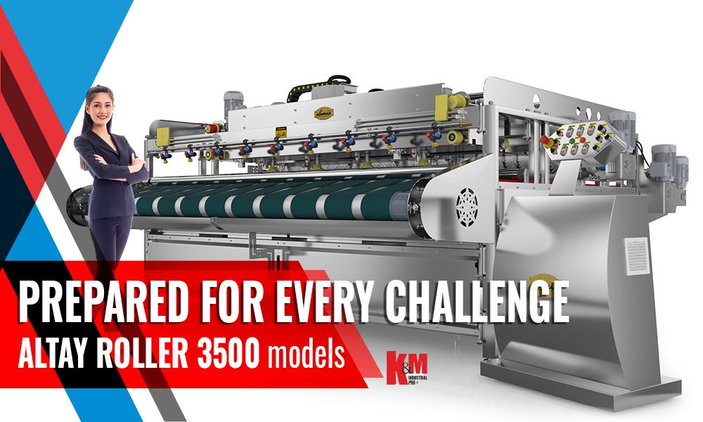 Full Automatıc Carpet/Rug Washıng Machıne ALTAY ROLLER INOX 3500