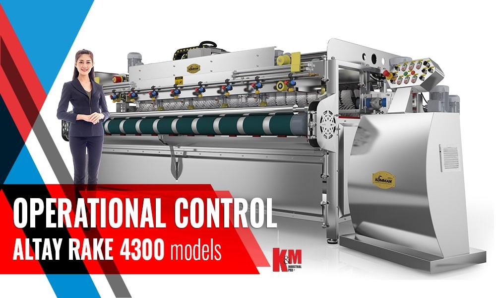 Full Automatic Carpet/Rug Washing Machine ALTAY RAKE INOX 4300