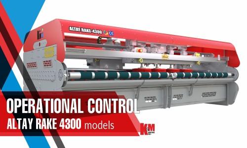 Full Automatic Carpet/Rug Washing Machine ALTAY RAKE 4300